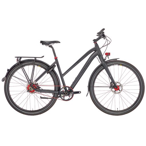 BLACK LAVA 6 CARBON DRIVE TREKKING LADIES showroom bike